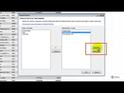 Power View Reporting Properties - SQL Server 2012 - Table Default Field Set - EPC Group