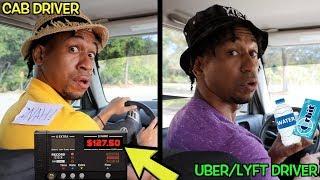CAB DRIVERS vs. UBER/LYFT DRIVERS
