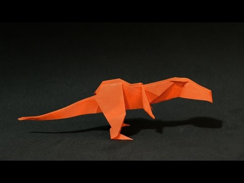 Origami: Dinosaur T-Rex