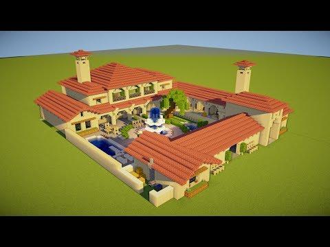 Minecraft: How to Build an Italian Villa - Tutorial