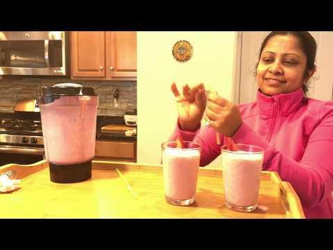 Strawberry Milkshake | Summer Drink