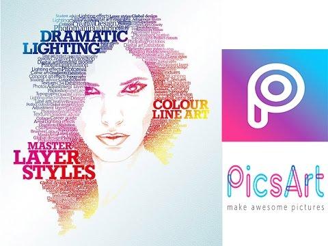 Picsart : Photo CB editing tutorial #2017