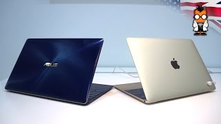 ASUS Zenbook 3 vs Apple Macbook - Detailed Comparison