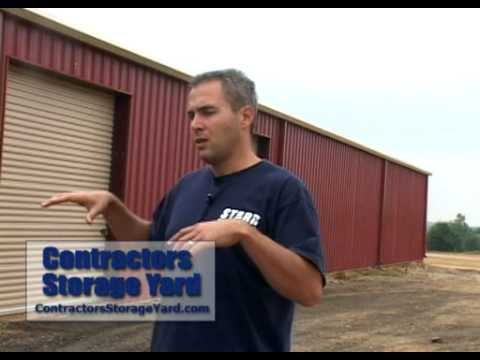 Contractors Storage Yard - Greenville SC