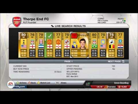 Fifa 13 Ultimate team: Easy money making method