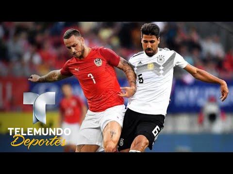 Austria dio lección de cómo vencer a Alemania | Copa Mundial FIFA Rusia 2018 | Telemundo Deportes