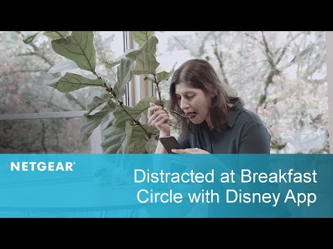 Distracted at Breakfast Time | Circle with Disney