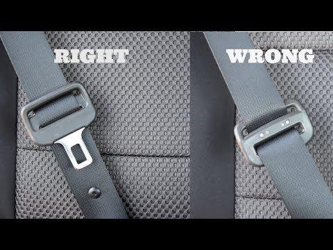 Seat Belt Turned Around Reverse Backward Twisted Buckle | Most Make & Model Vehicles