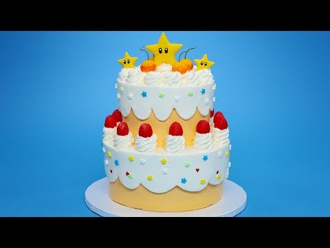 PRINCESS PEACH CAKE - SUPER MARIO - NERDY NUMMIES