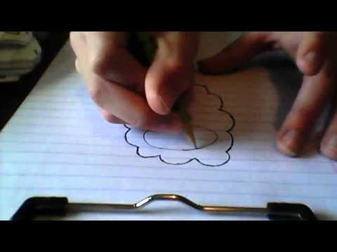 How to draw Burmy (trash cloak) from Pokemon(: