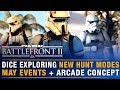 DICE Exploring New Hunt Modes May Event List Historical Scenarios Concept Battlefront Update