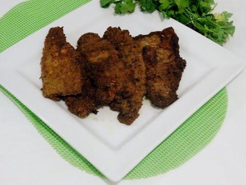 Breaded Steak ( Bistec Empanizado) Puerto Rican Style Recipe- Episode 160