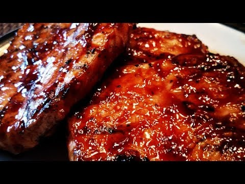 World's Best Honey Garlic Pork Chops - Recipe