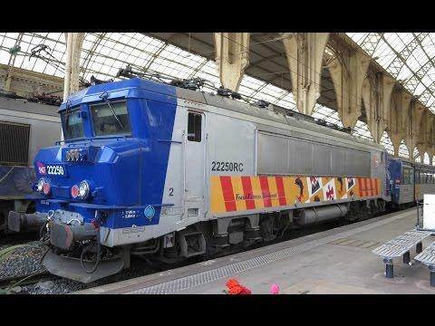 France: SNCF BB22200 electrics on TER Côte d'Azur passenger trains Cannes-Nice-Monaco-Ventimiglia