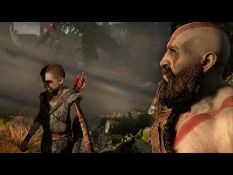 GOD OF WAR 4 -15 Minutes of Gameplay Demo PS4 2018