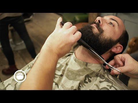 Best Way to Shape Curly Beard at Barbershop | Hari Cut & Grind