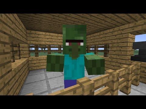 Como curar a un Zombie Aldeano   MINECRAFT