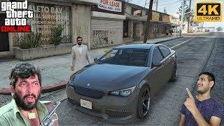 GTA 5 : GABBAR SINGH STEALING HIS FIRST CAR 😈 #Online3