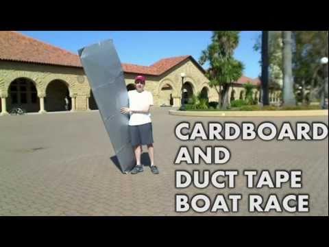 Stanford's Cardboard Boat Race