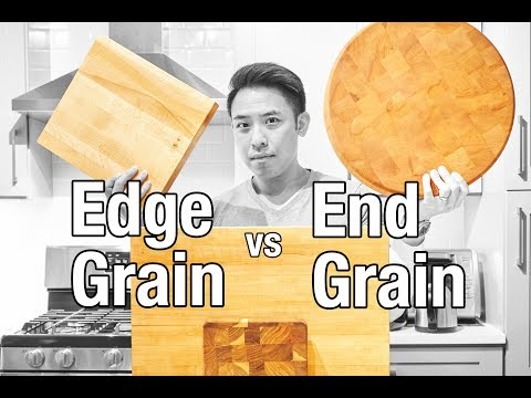 Cutting Boards Explained: Edge Grain vs End Grain