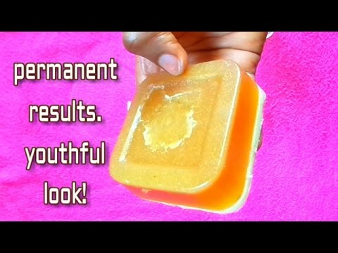 PERMANENT WHITENING HOME-MADE SOAP FOR SKIN TONING |YOUTHFUL LOOK & SILKY SKIN