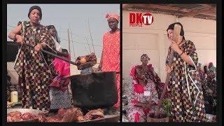 Magal 2019 viviane Chidid a Touba chez Sokhna Asta Walo bou Seringe Saliou Mbacke