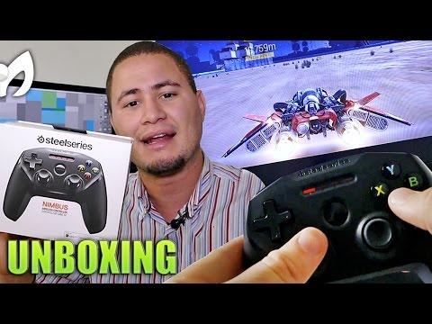 Unboxing Control Apple Steel Series Nimbus- Apple TV 2015