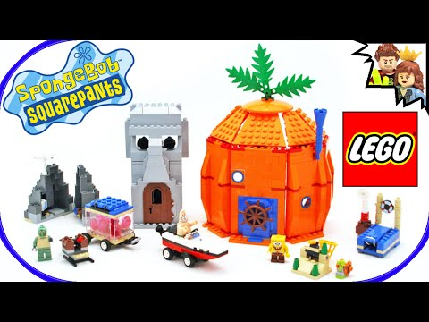 LEGO SpongeBob SquarePants Adventures in Bikini Bottom 3827 Speed Build