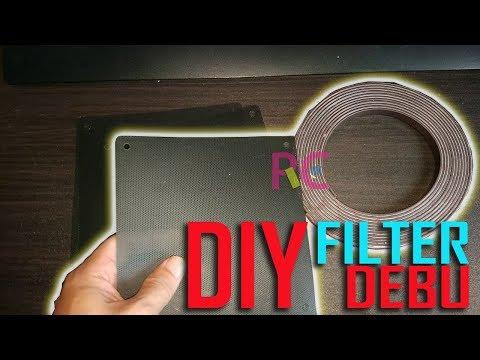 Cara Membuat Filter Debu Fan PC Murah Meriah: Solusi Case Komputer yang Tidak Ada Filter Debunya