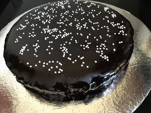 Eggless Chocolate Cake - Recipe   Easy Recipe  Learn in 6 Minutes or Less