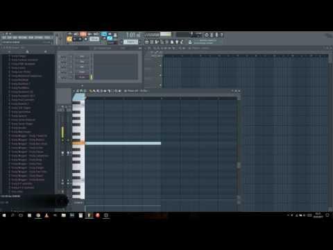 FL Studio Tutorial - Making a Laser Sound Effect