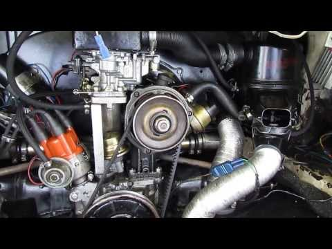 A quick tour of my Weber 32/36 progressive  carburettor installation in a VW T2 camper