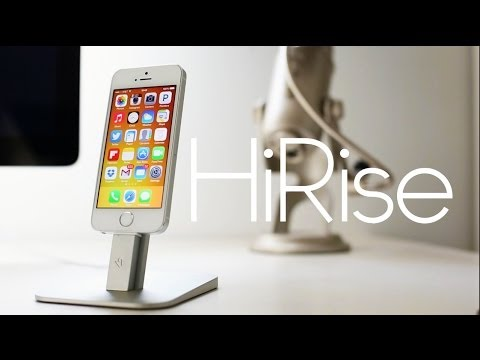 HiRise iPhone/iPad stand review