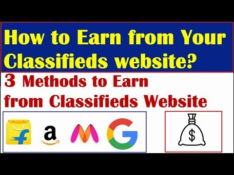 How to make Money from Classifieds Website | 3 Earning Ideas | Classifieds site Part 2 | EarningBaba