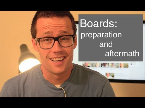 Med School Boards: My preparation and thoughts afterwords