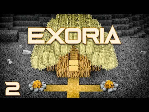 Exoria EP2 First Furnace + Fishing With Strainers