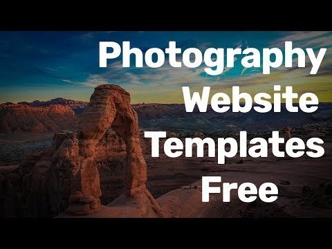 Best Free Photography Website  Design Templates for photographers  Download – Responsive 2017