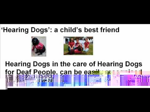 Hearing Dogs: a child's best friend - [Your Voice - April 2012]