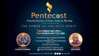 Online Pentecost: 39 Hours of Non-Stop Prayer & Praise