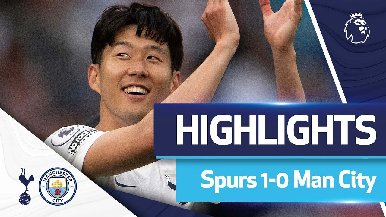 Son's stunner claims opening day DELIGHT against City   Highlights   Spurs 1-0 Man City