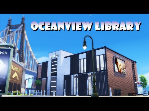 Sims 4 | House Building | Oceanview Library