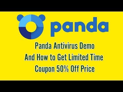 Panda Antivirus Review - How to Get 50% Off Panda Security