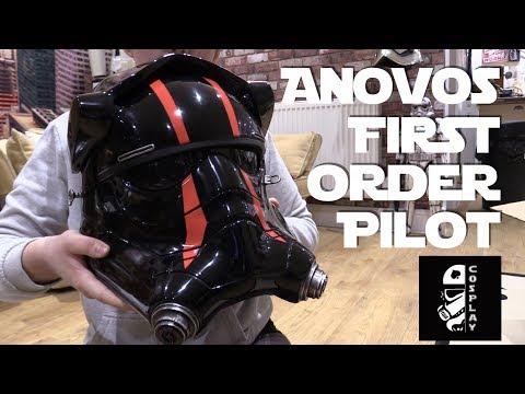 Anovos FO Special Forces Tie Pilot Helmet Unboxing