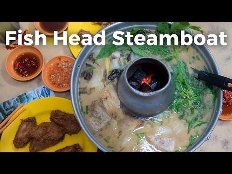 Fish Head Steamboat at Tian Wai Tian