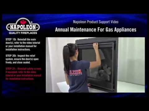 Napoleon Gas Appliance Annual Maintenance Tutorial