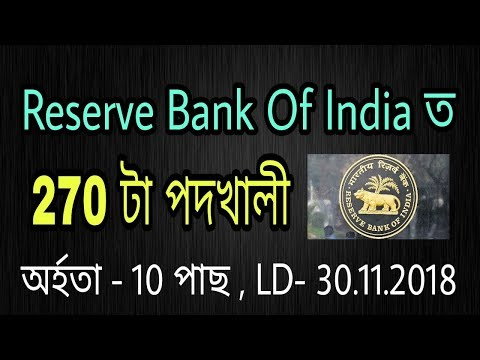 RBI Recruitment 2018: Apply Online For 270 Security Guards Posts