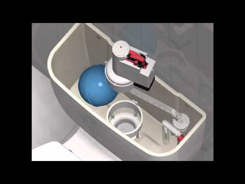 Replacing the sealing washer on the outlet valve of your cistern