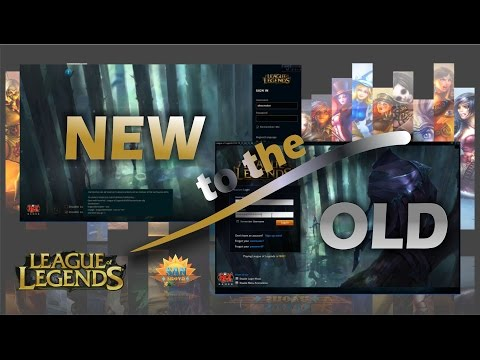 Reverting back to the old client League of Legends Solved! [FIX]