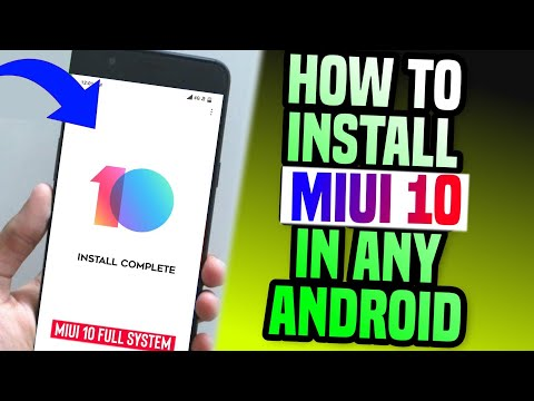 How to install MiUi 10 in Any Android Phone 2019 Trick
