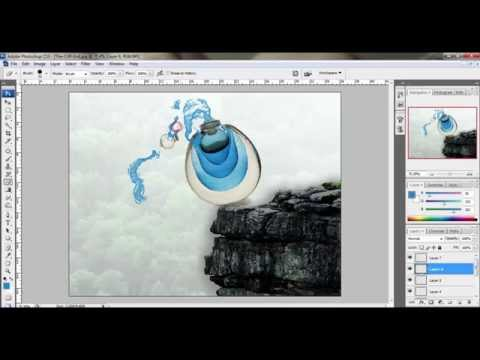 How To Make Ads (Advertisement) Using Photoshop CS3 Part I
